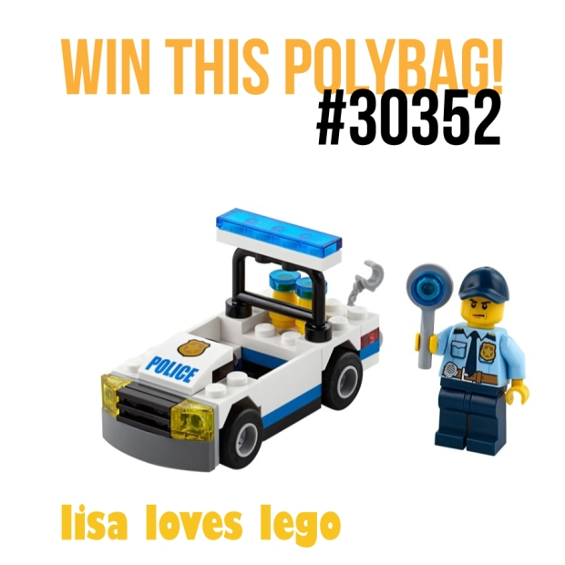 Win this Lego Police Polybag