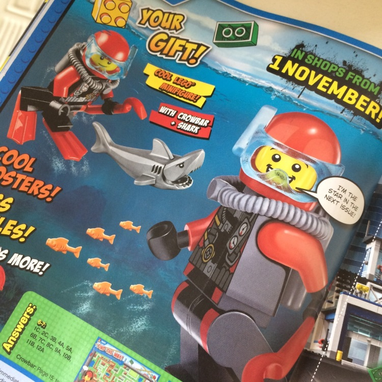 Lego City Magazine Issue 3 Free Gift