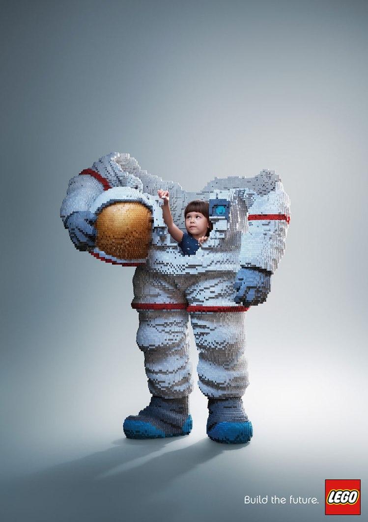 Lego Astronaut Ogilvy Bangkok