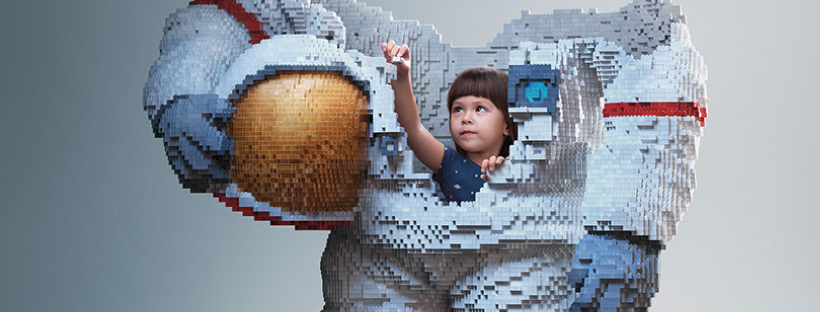 Lego Build the Future Campaign Astronaut