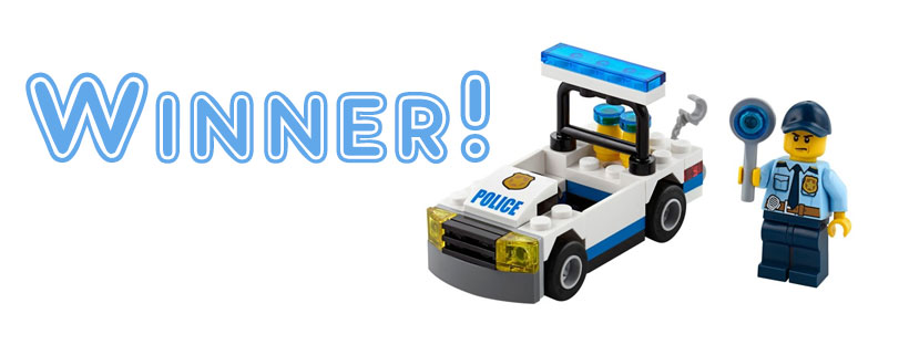 Lego City Police Polybag Winner