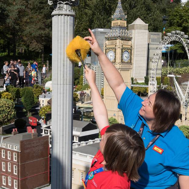 Work experience at Legoland