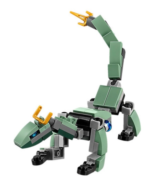 Lego Ninjago Green Dragon Mech
