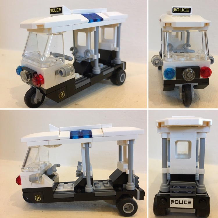 Lego Ninjago Movie tuk tuk