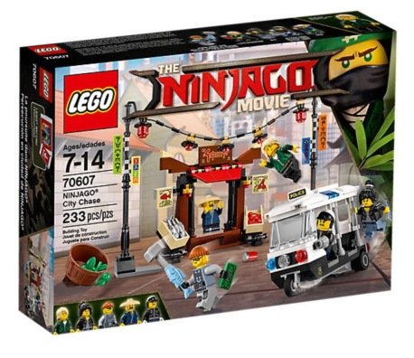 Lego Ninjago Movie City Chase