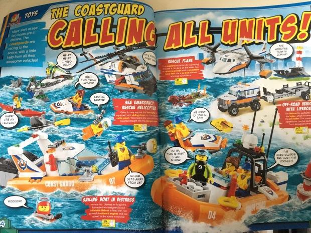 Lego City Coastguard