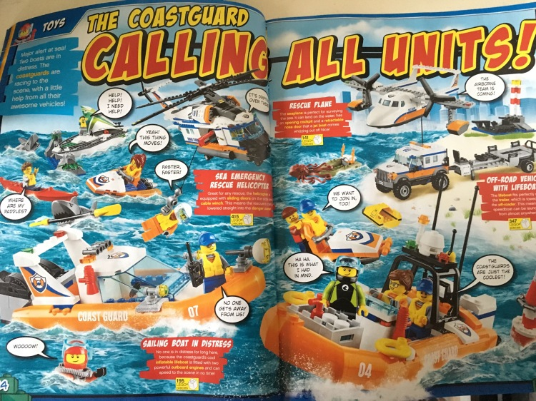 Lego City Coastguard