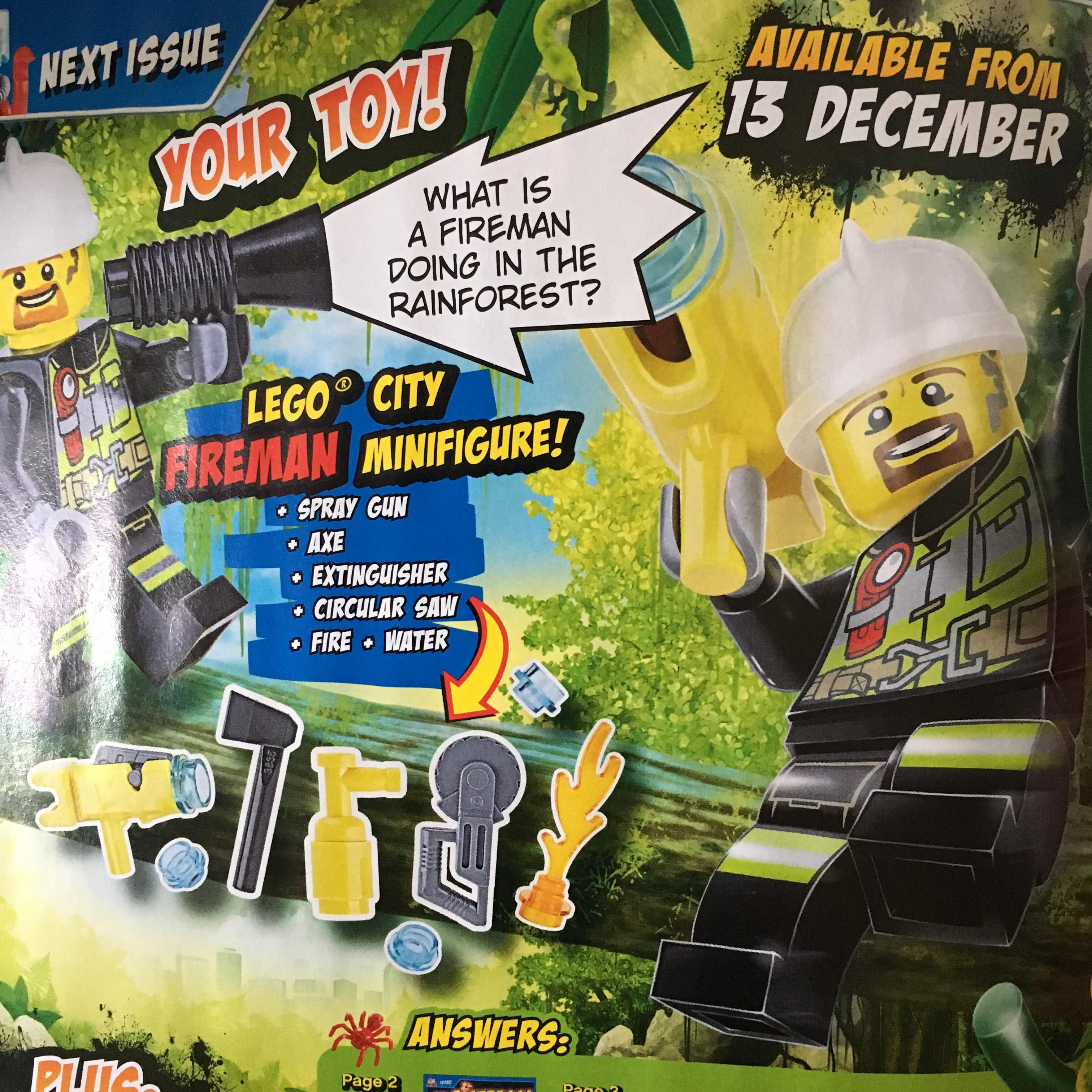 lego city magazine issue 3 lisa loves lego. Black Bedroom Furniture Sets. Home Design Ideas