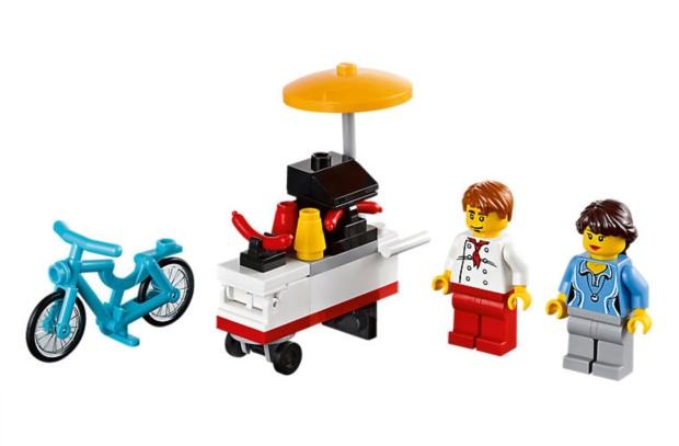 Lego Hotdog Cart