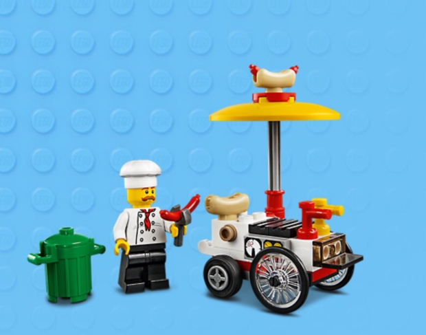 Lego Hotdog Stand