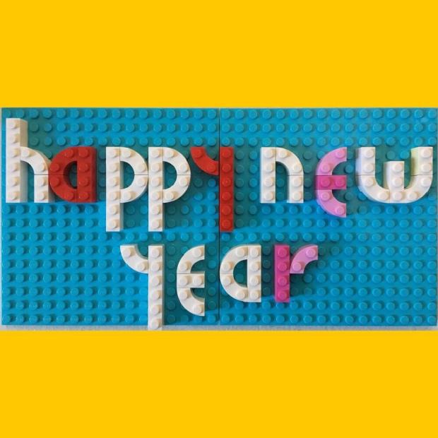 Happy New Year Lego