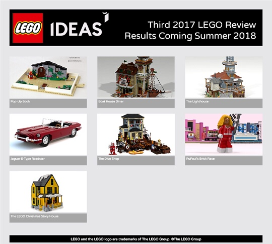 Lego Ideas Review 2017