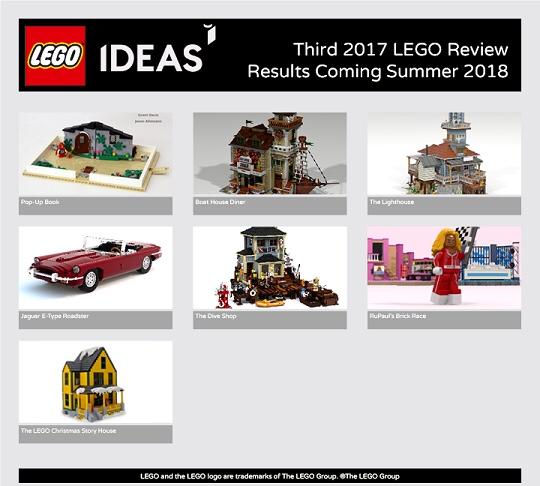 Lego Ideas Review 2017
