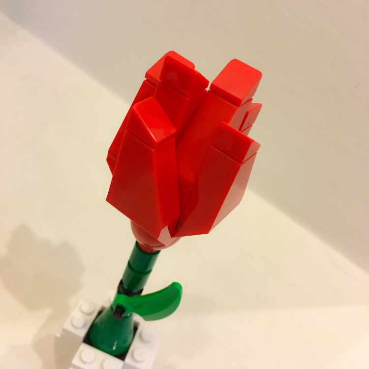 Lego Red Rose