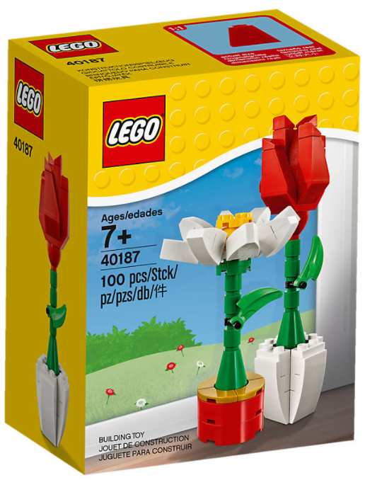 Lego Flowers Box