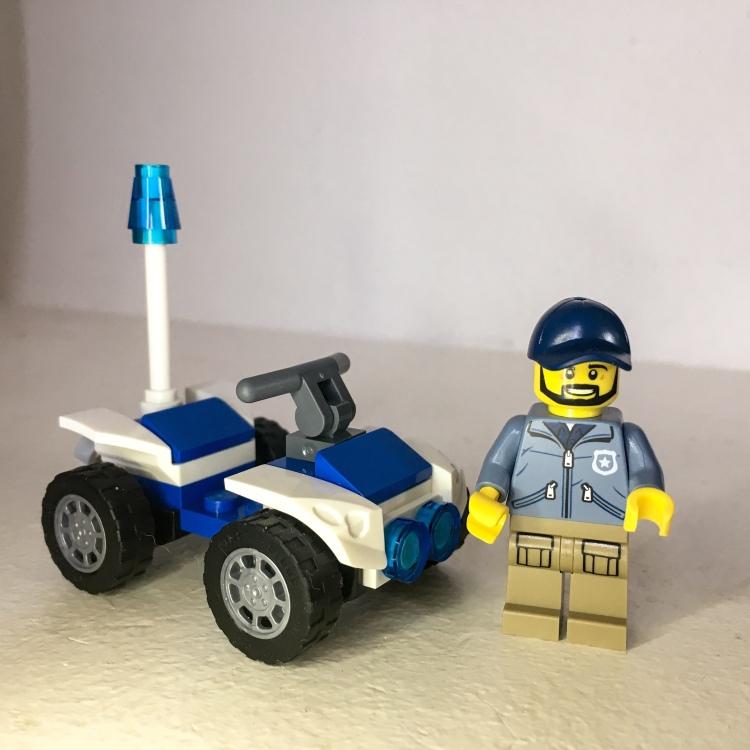 Lego City Mountain Police Minifigure