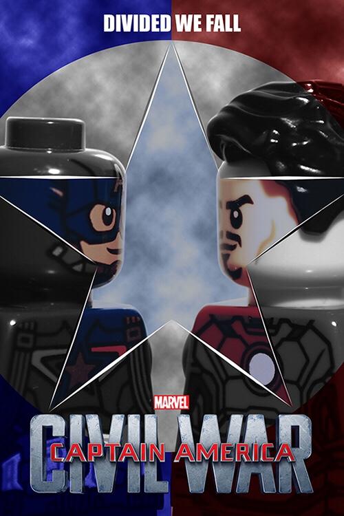 True North Bricks C is for Captain America