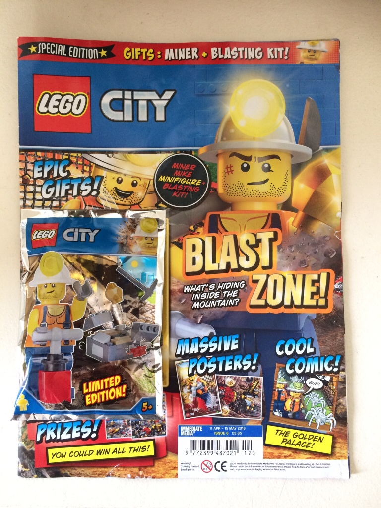 Lego City Magazine Issue 6