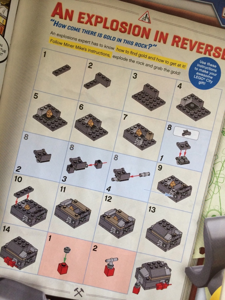 Instructions for build in LEGO Magazine Issue 6