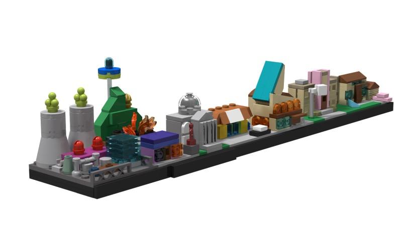 LEGO Architecture Springfield