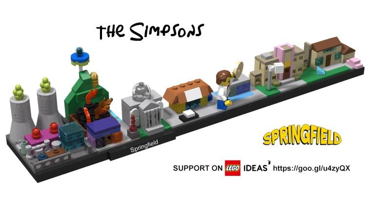 Springfield LEGO Architecture