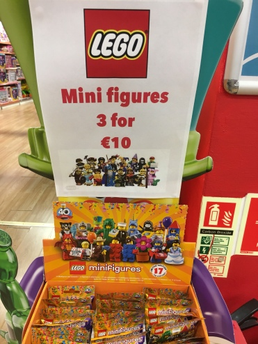 Lego Collectable Minifigure Offer