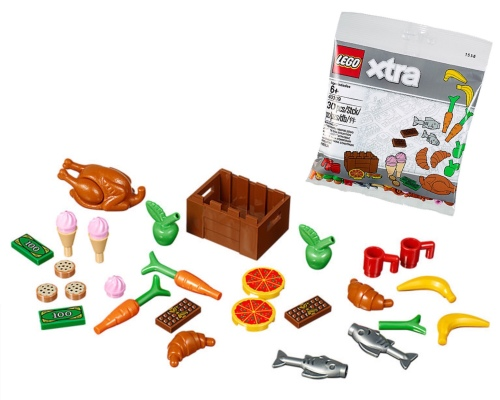 LEGO xtra polybag food