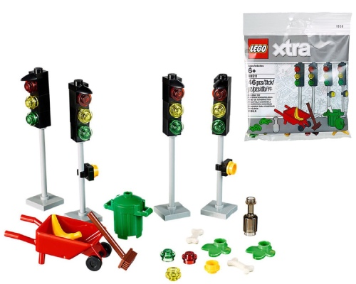 LEGO xtra polybag traffic lights