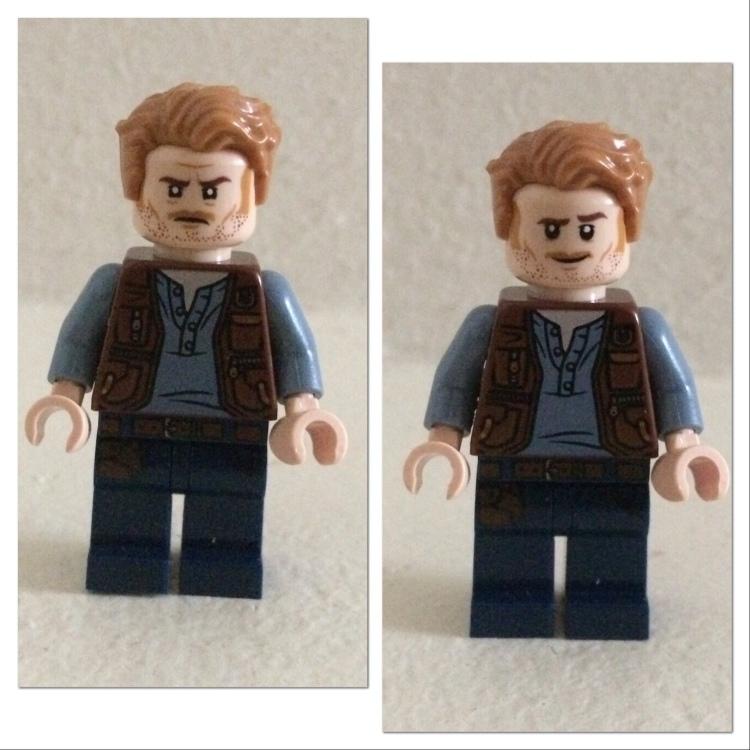 LEGO Owen Grady Minifigure