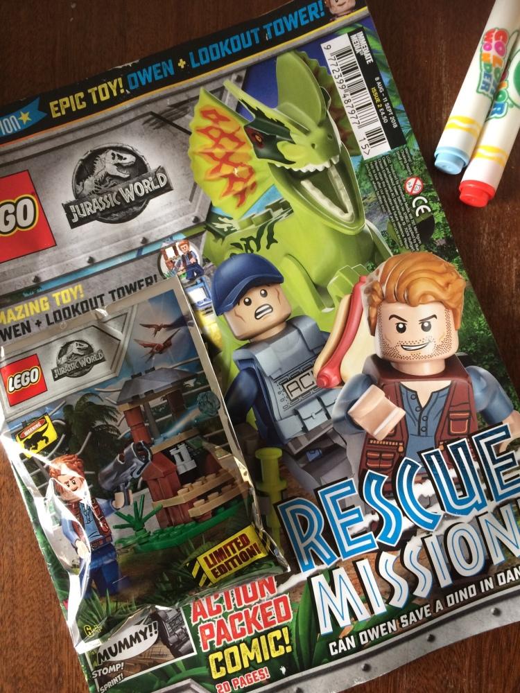 Lego Jurassic World Magazine Issue 2