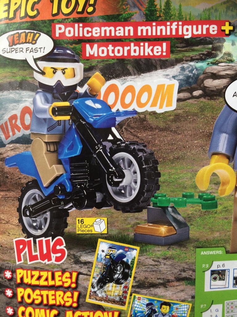 LEGO City Police Motorbike
