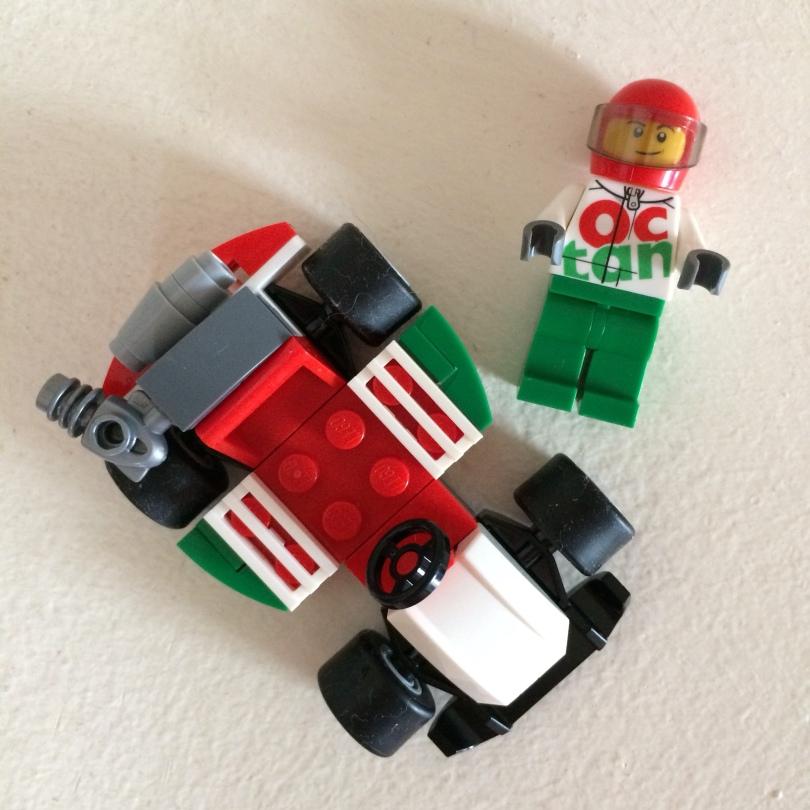LEGO Octan Minifigure