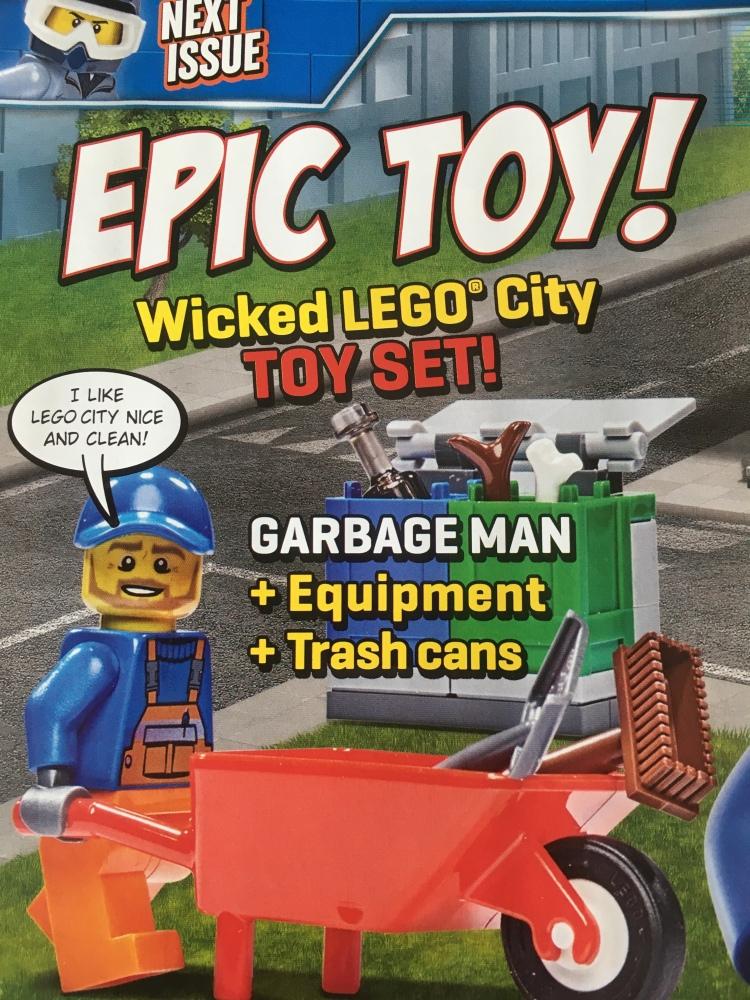 LEGO City Magazine Issue 9 Free Gift