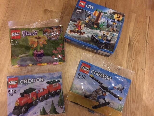 Lego Creator polybag and Lego Friends polybag