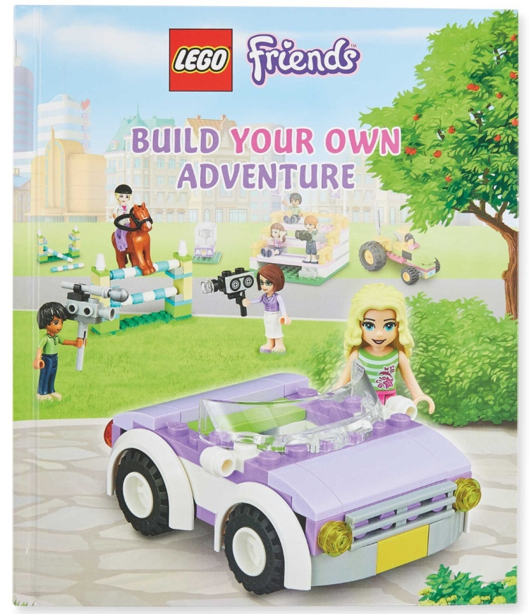 LEGO Friends Build Your Own Adventure Book