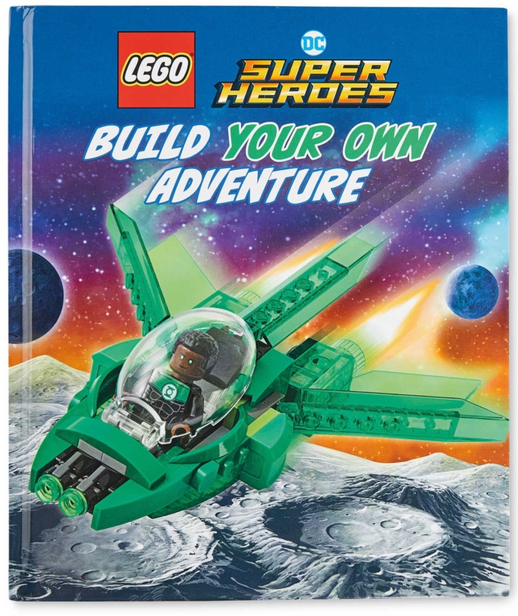 LEGO DC Super Heroes Build Your Own Adventure Book