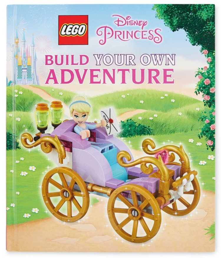 LEGO Disney Princess Build Your Own Adventure Book