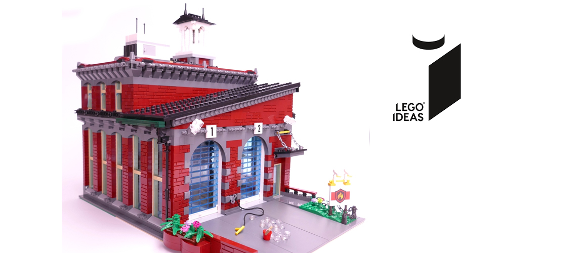 Lego Contemporary Fire Station Lego Ideas Logo