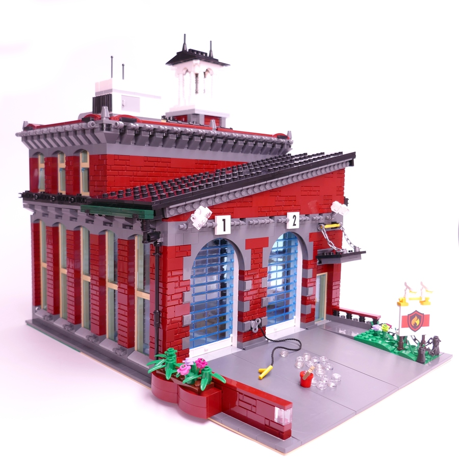 LEGO Contemporary Fire Station
