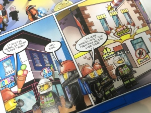 Lego City Magazine Issue 12 firefighters