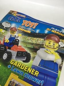 LEGO City Magazine Issue 13 gift