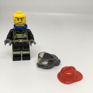 LEGO Firefighter Phil Minifigure