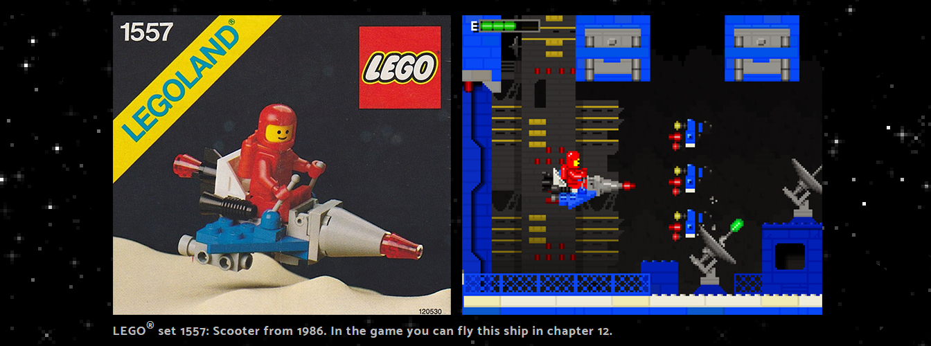 Lego Classic Space Adventure Game by Johan Alexanderson