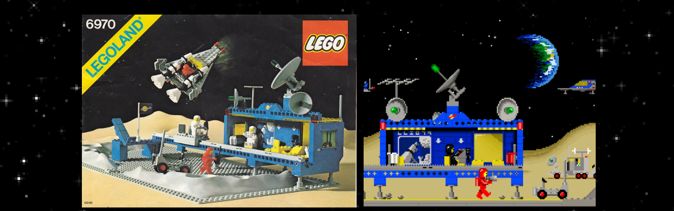 LEGO Classic Space Adventure Game Screengrab with set 6970