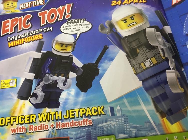 LEGO SKY POLICE MINIFIGURE