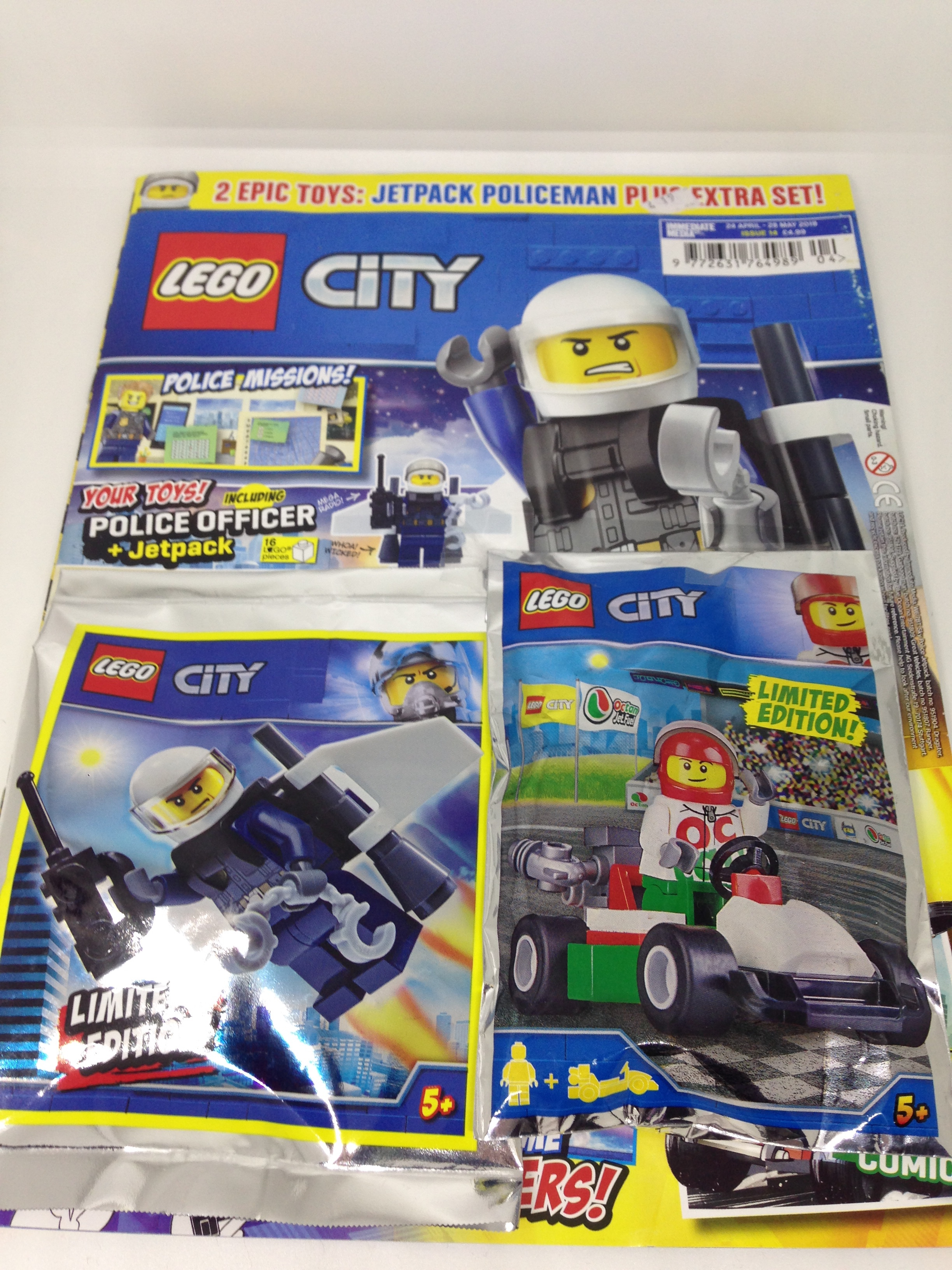 Lego City  Magazine Issue 14