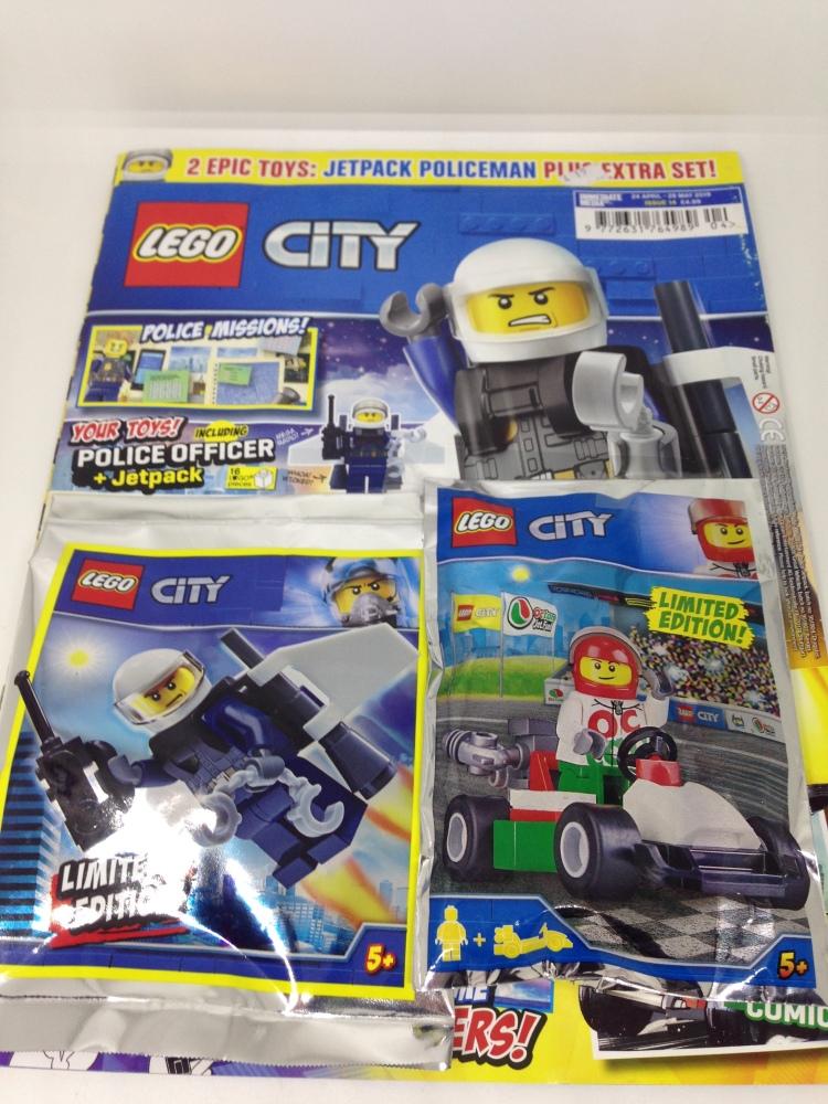 Lego City  Magazine Issue 14
