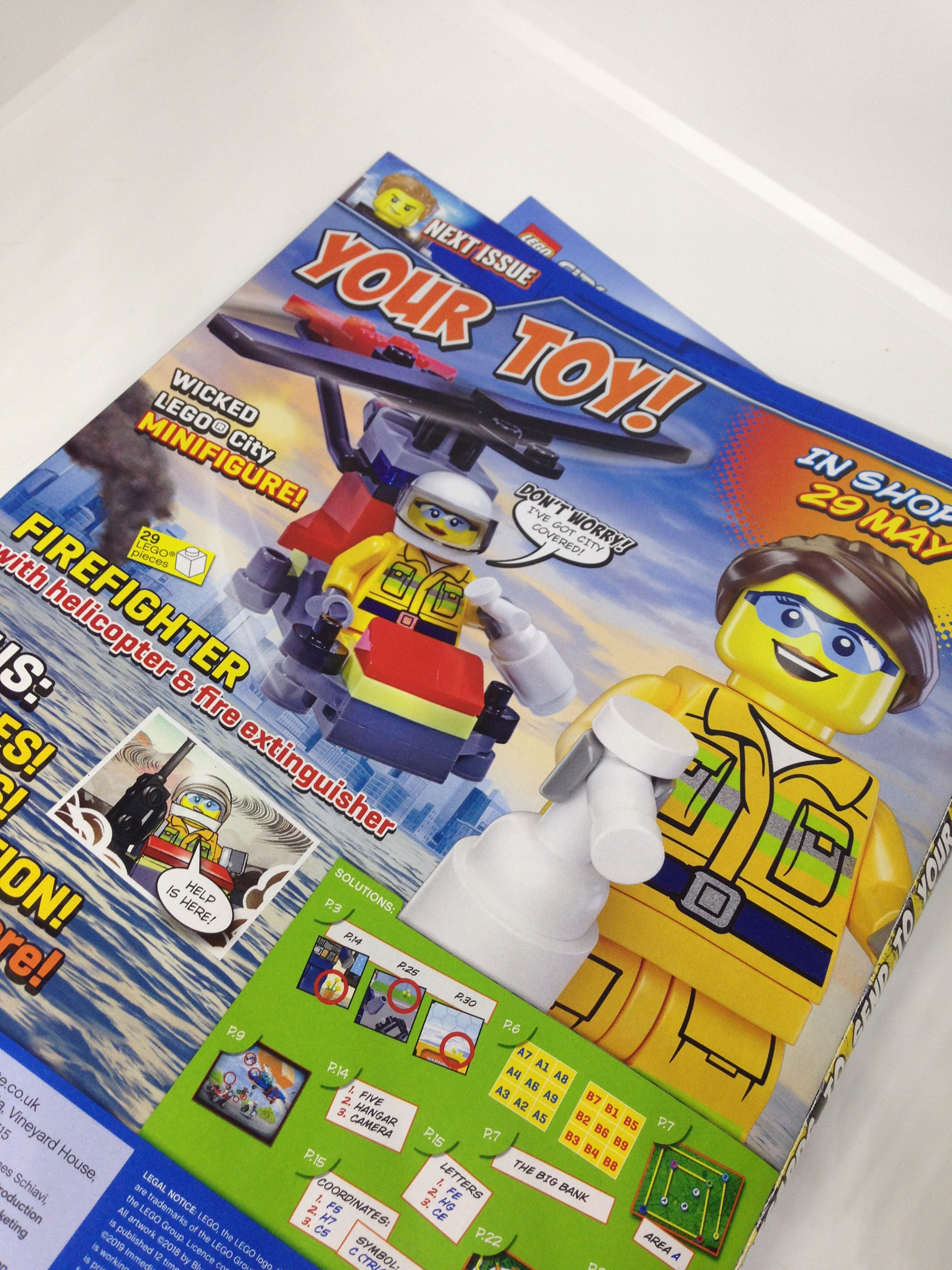 Lego City Magazine Issue   15 free gift