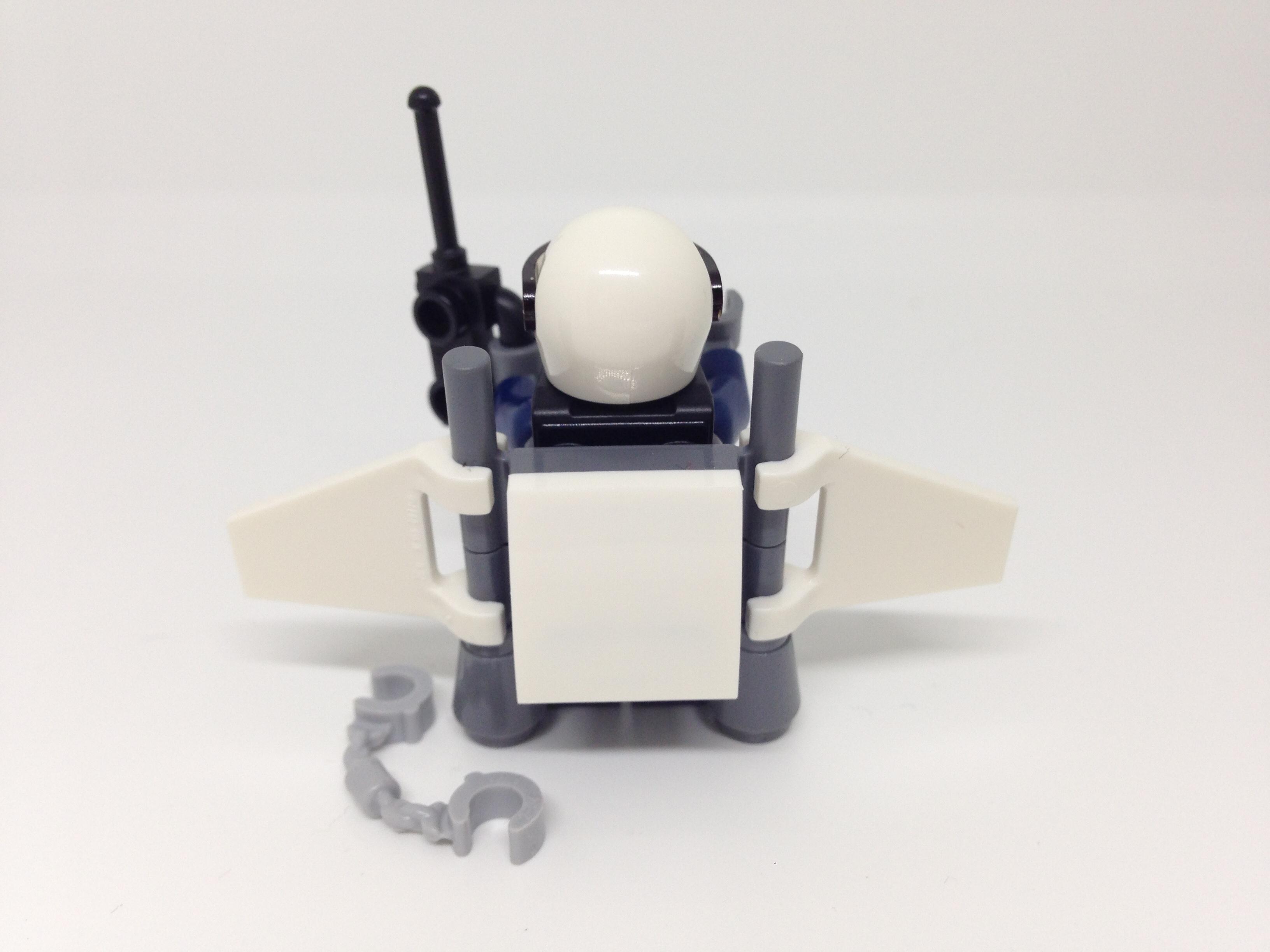 Lego City Sky Police Minifigure