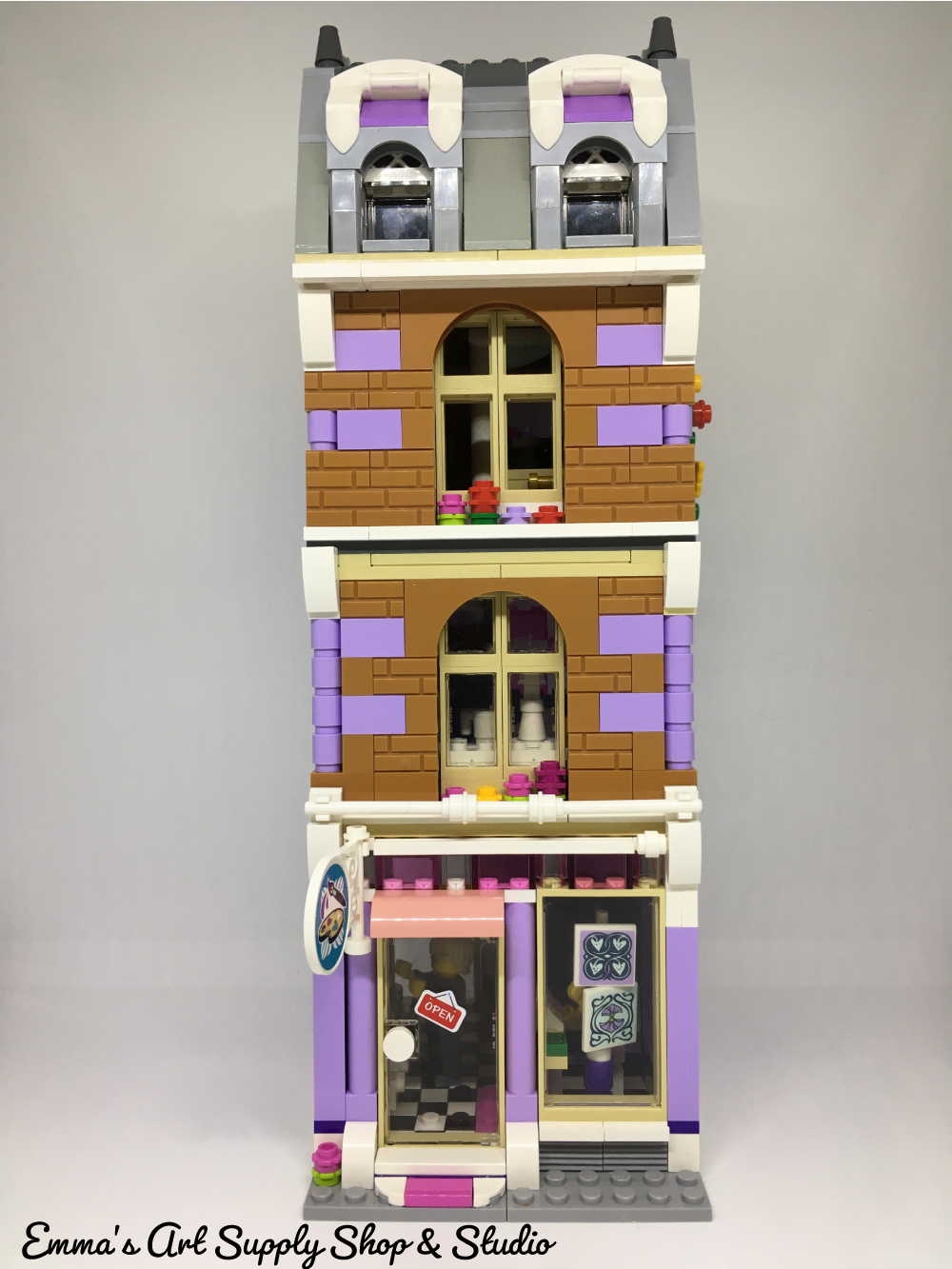 LEGO Friends Emmas Art Supply Shop  and Studio MOC